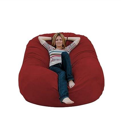 Amazon.com: Puf grande y cómodo (6 pies), Microfibra ...
