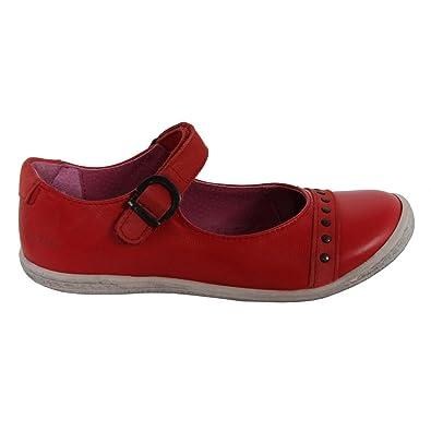 Chaussures pour Fille KICKERS 413970-30 CAKMANDOU ROUGE FONCE sKioh9m5