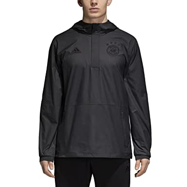 on sale 2be03 d3a66 adidas Mens Germany Seasonal Special Wind Jacket 1819 (S) Black