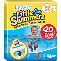 Huggies Little Swimmers- Bañadores Desechables, talla 2-3, 20