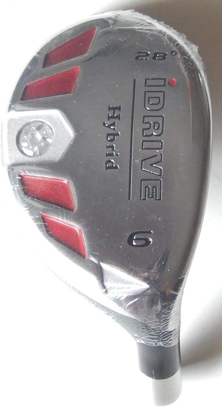 New Integra I-Drive Hybrid Golf Club 6-28 Right-Handed with Graphite Shaft, U Pick Flex