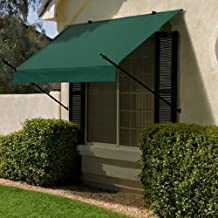 IDM Worldwide 3020765 Modern Designer Awning sand 8 ft.