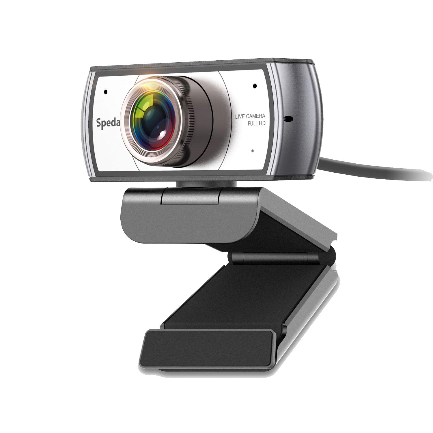 Wide Angle Webcam120 Degree View Spedal 920 Pro Video Conference Distance Learning Remote Teaching