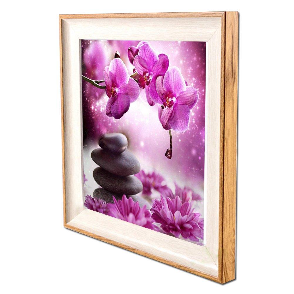 DIY Diamant Malerei 5d Diamond painting Kits with frame: Amazon.de ...
