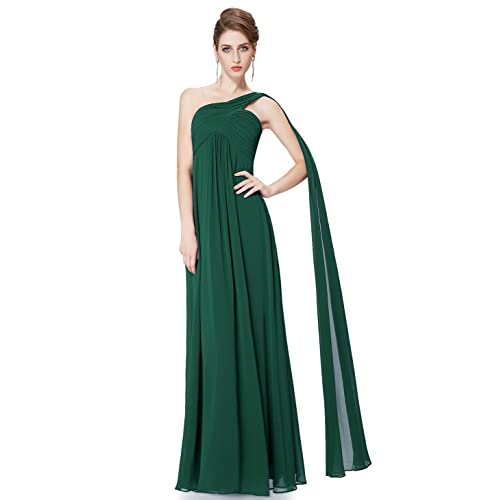 Ever Pretty Womens One-Shoulder Sleeveless Evening Dress