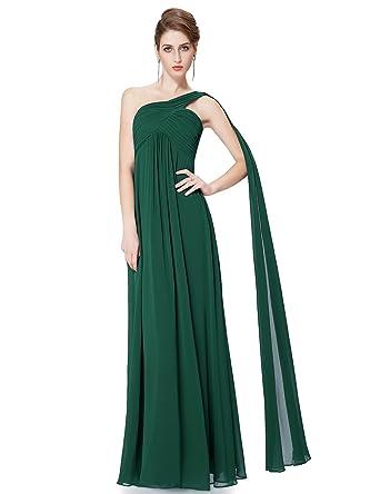 Amazon.com: Ever Pretty Womens One Shoulder Floor Length Evening ...