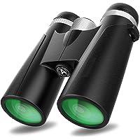 10x42 Binoculars with Clear Weak Light Night Vision, Lightweight Compact Shock Proof Design for Kids Adults Bird…