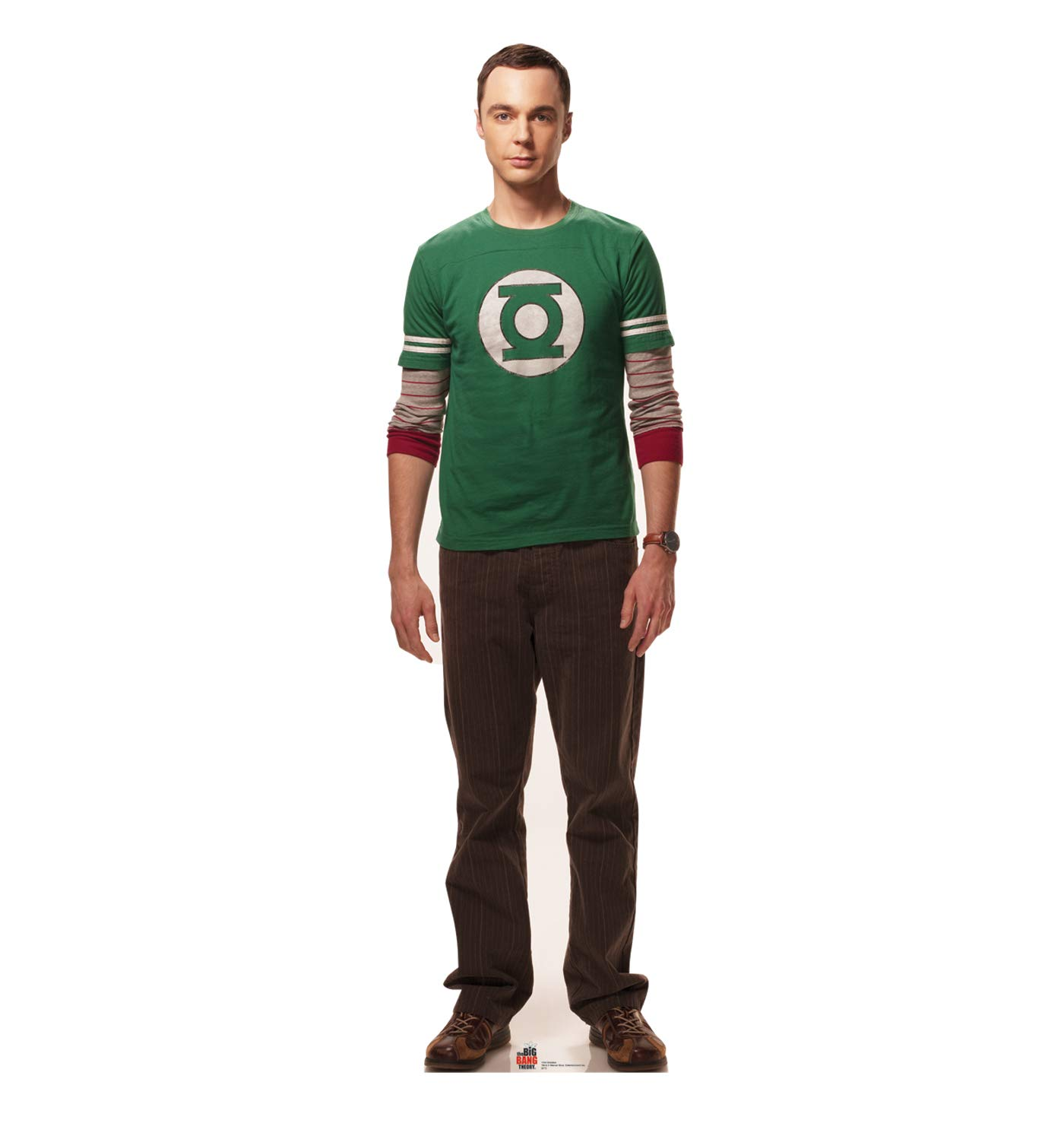 Advanced Graphics Sheldon Cooper Life Size Cardboard Cutout Standup - The Big Bang Theory