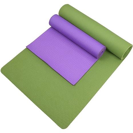 DHG Alfombra de Yoga Insípida, Alargada y ensanchada ...
