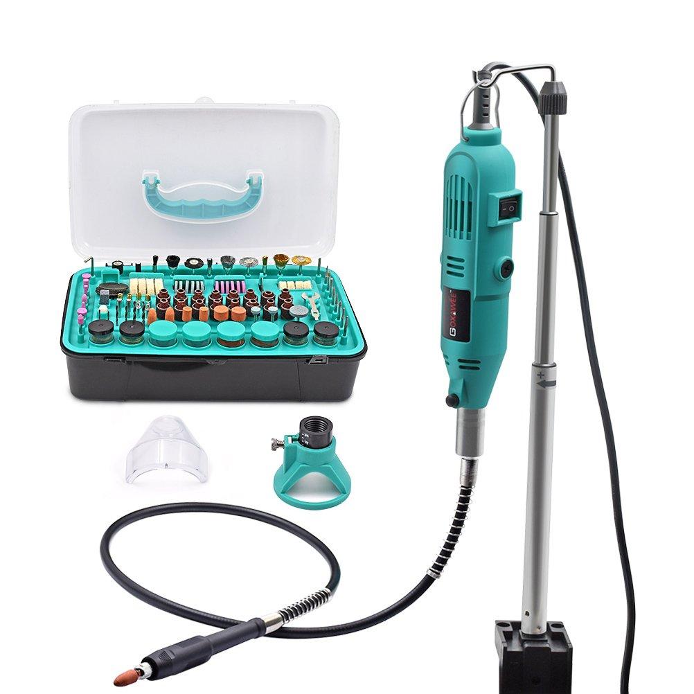 GOXAWEE 288Pcs Rotary Multi Tool Kit - Mini Die Grinder Combitool ...