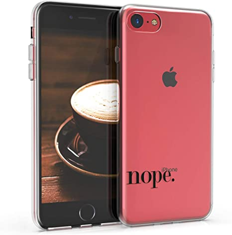 kwmobile Apple iPhone 7 Cover Custodia in silicone TPU per Apple