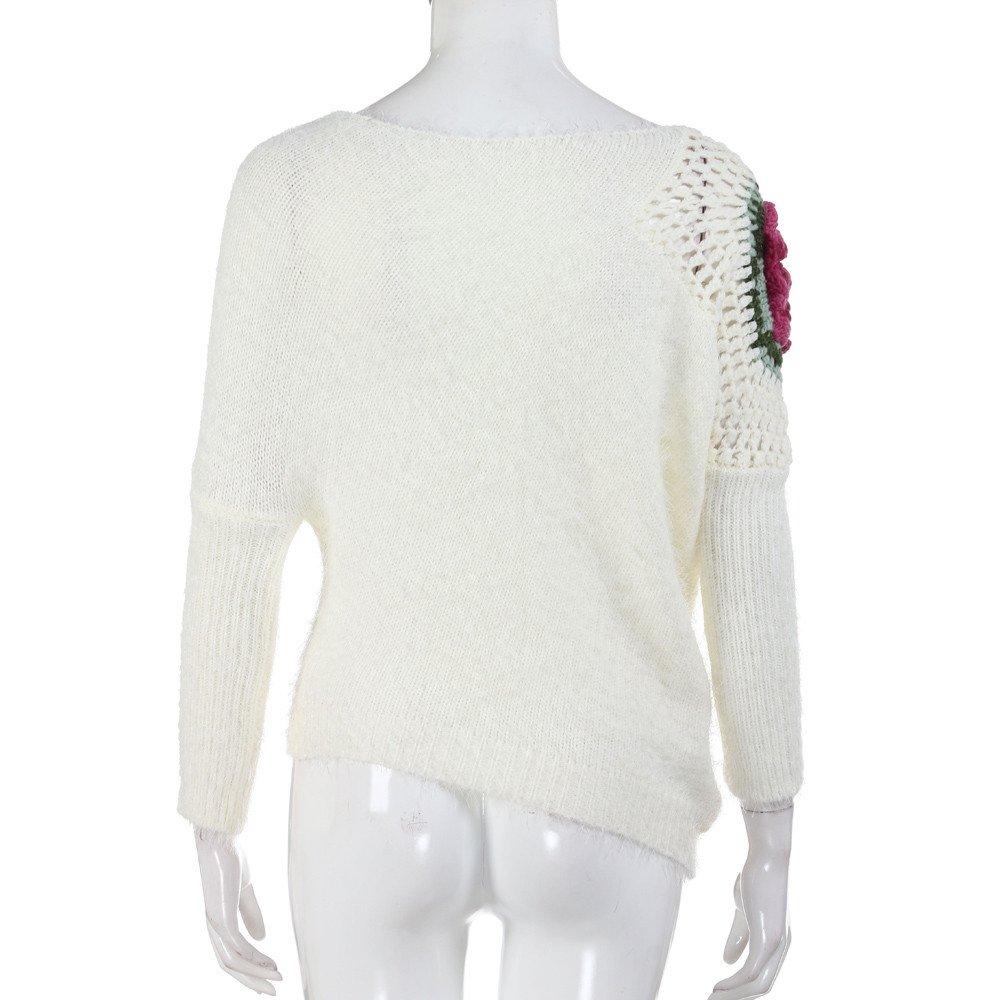 VJGOAL Mujeres Otoño Invierno Moda Casual Color sólido Cuello ...