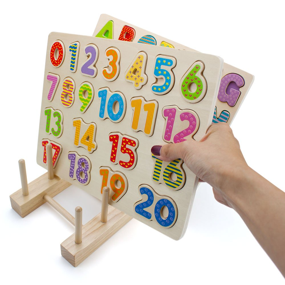 Professor Poplar/'s Wooden Puzzle Display Stand by Imagination Generation