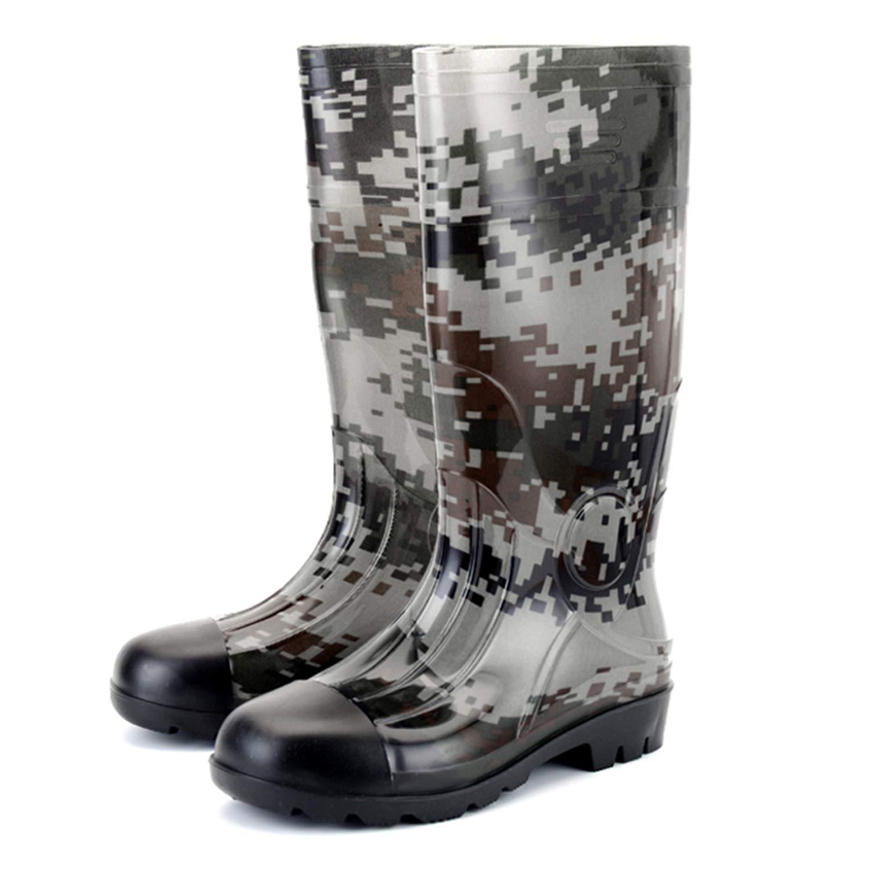 5b249b26889 Amazon.com | JOINFREE Men's Short Rain Boots Waterproof Gardern ...