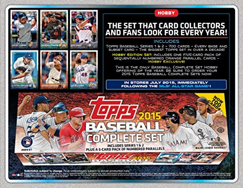 2015 Topps Baseball Cards Factory