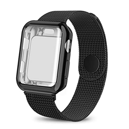 hot sale online 62d98 c7fc7 Amazon.com: BicasLove Compatible for Apple Watch Band with Screen ...