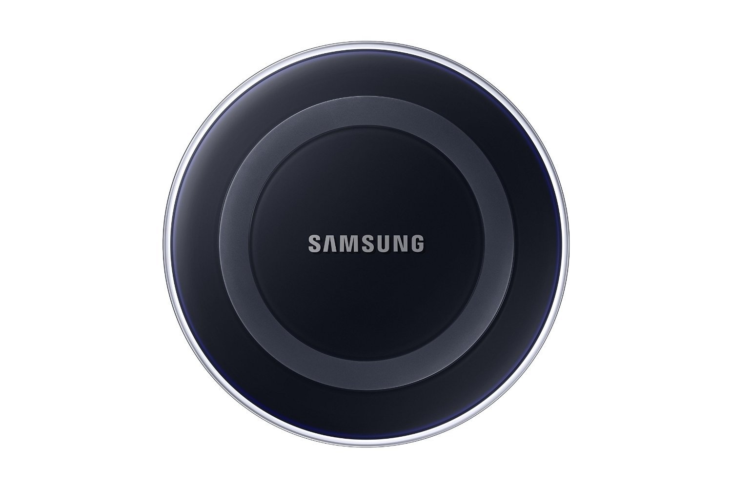 Samsung Qi Certified Wireless Charging Pad with 2A Wall Charger- Supports wireless charging on Qi compatible smartphones including the Samsung Galaxy S8, S8+, Note 8, Apple iPhone 8, iPhone 8 Plus, and iPhone X (US Version) - Black Sapphire by Samsung