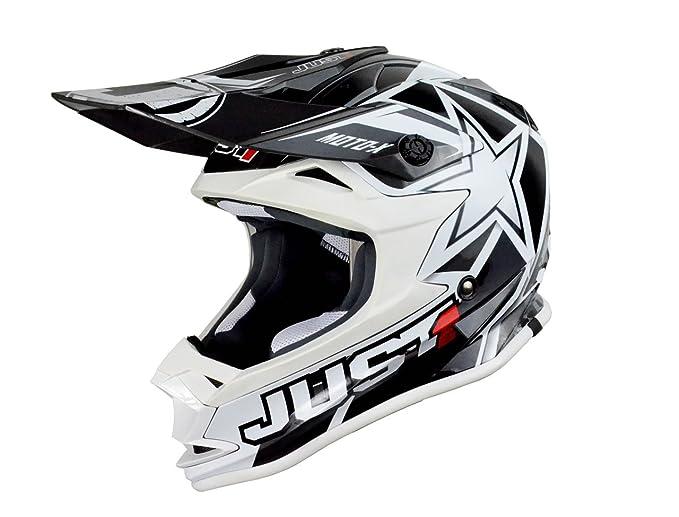 Just 1 Helmets - J32 Moto X Casco de Motocross, Amarillo, M: Amazon.es: Coche y moto