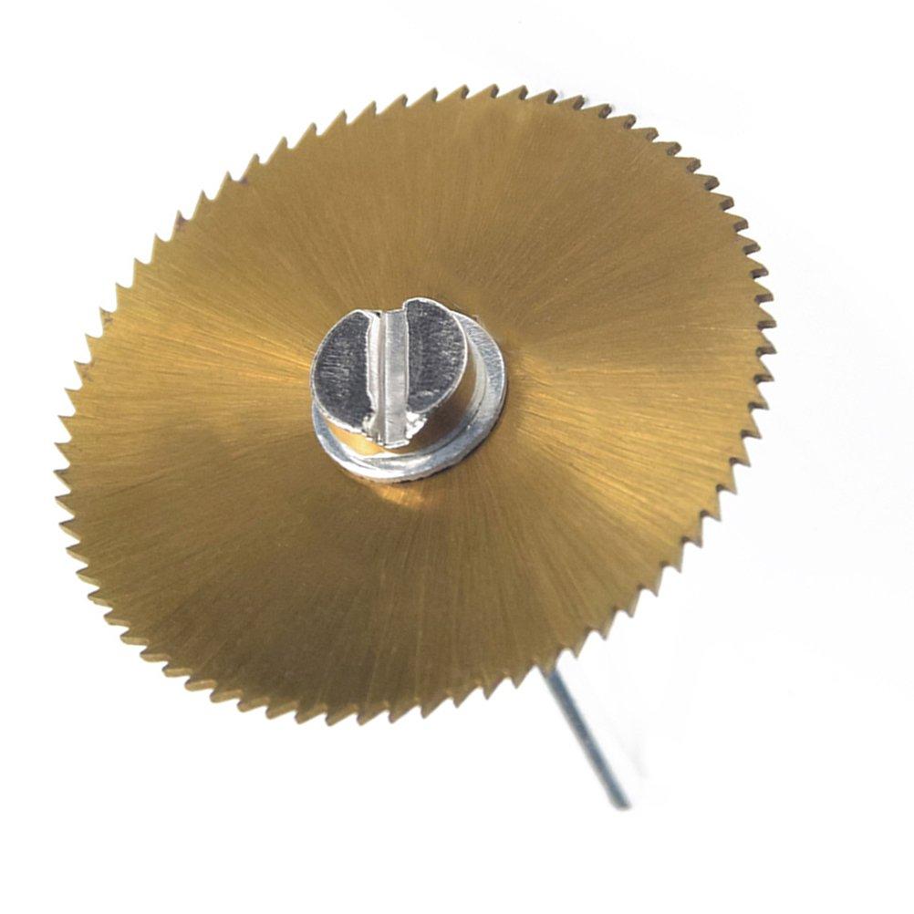 UKCOCO Kreissä geblatt 6PCS mit den Zä hnen mit Ti-ü berzogener hoher Qualitä t fü r Rotationswerkzeuge