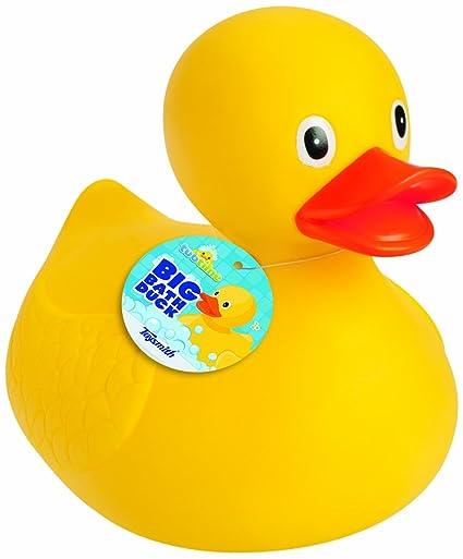 Amazon.com: Toysmith Big Bath Duck (8.5-Inch): Toys & Games