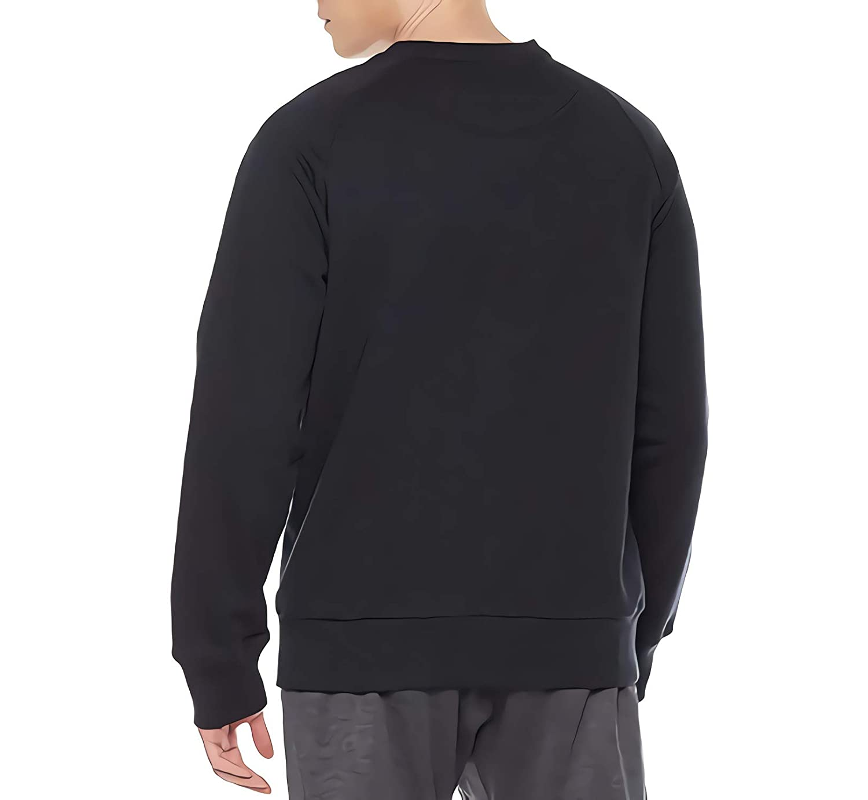 Donald Marjory Bi Sexual Print Mens Rib Cuffed Crewneck Fleece Athletic Pullover Crewneck Sweatshirt