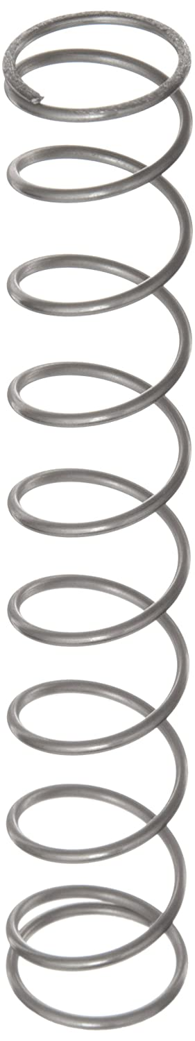 Compression Spring Stainless Steel Metric 21.6 mm OD 1.6 mm Wire Size 25.5 mm Compressed Length 110 mm Free Length 70.68 N Load Capacity 0.82 N mm Spring Rate Pack of 10
