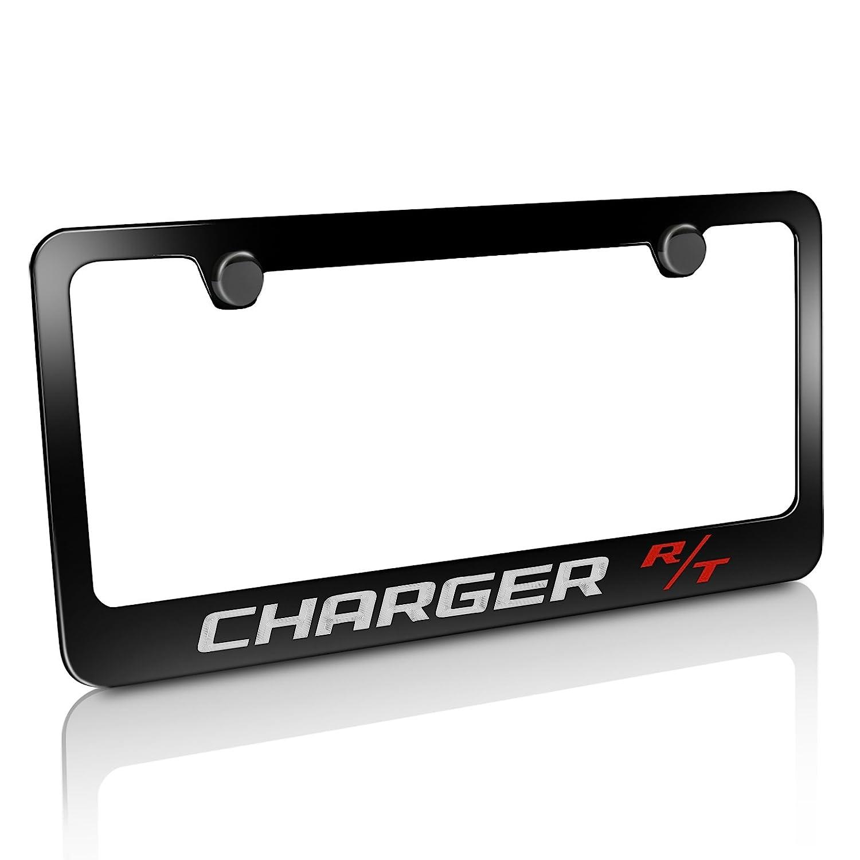 Dodge Charger R//T Black Icense Plate Frame