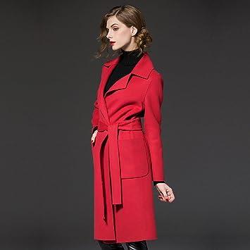 Lana Con Abrigo De Modelos En Invierno Mo Gran Mujer Tamaño Y800xvw