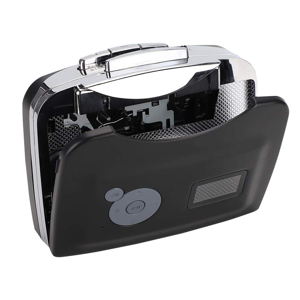 ASHATA Cassette Player,USB Cassette Signal Converter Tape to MP3 Recordings Music Converter Cassette Player,USB Tape Converter,Save The Tape to a USB Flash Drive by ASHATA