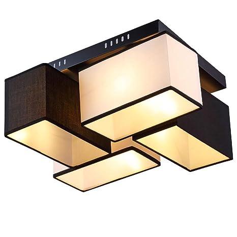 Rectangular de techo LED Lámpara para el salón moderna con ...
