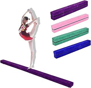 Costway 7FT Poutre d'équilibre pliable pour gymnastique de 2,1m Entraînement de gymnastique à la maison