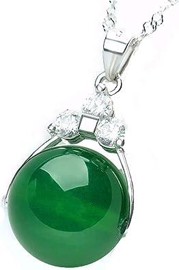 collier femme jade