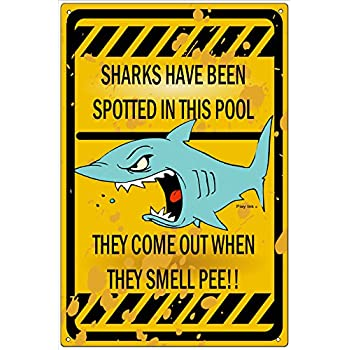 Amazon.com: Ohio Wholesale Feed the Sharks Wall Art, from our Water ...
