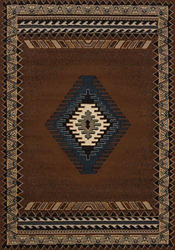 United Weavers of America Tucson Manhattan Rug Collection, 5 3 x 7 6 , Blue