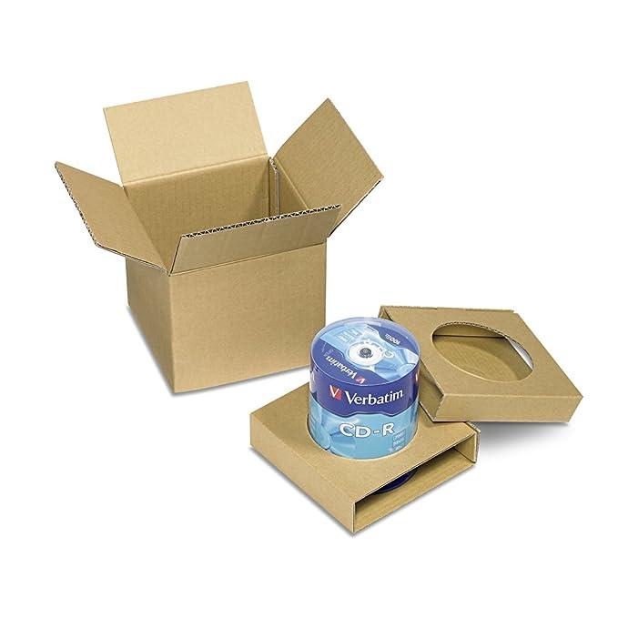 Amazon.com: Verbatim 700MB 52X 80 Minute Branded Recordable ...
