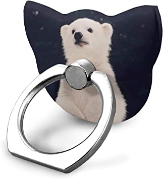 Nicegift Polar Bear Baby Ring Phone Holder Bracket Pop Stand ...