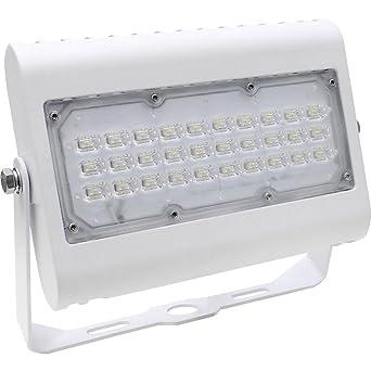 Diodor LED Foco Proyector, aluminio, 50 W, color blanco, 22.7 x ...