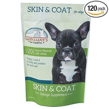 Amazon.com: Suplemento para perros Omega 3 y 6 para piel ...