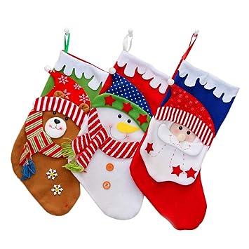 Toyvian Medias navideñas navideñas - Bolsas Colgantes de ...