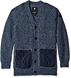 G-Star Raw Men's Rovic Heavy Cardigan Sweater, Sartho - Best Reviews Guide