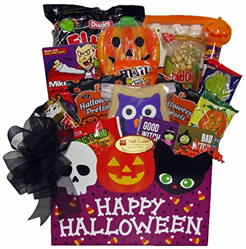Delight Expressions™ Ghostly Greetings Gift Box - A Halloween Gift Basket Idea - College Girl Halloween Pics