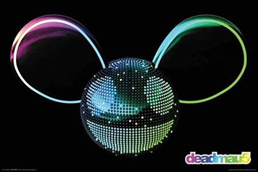 Deadmau5 Logo Rock Music Poster 36x24