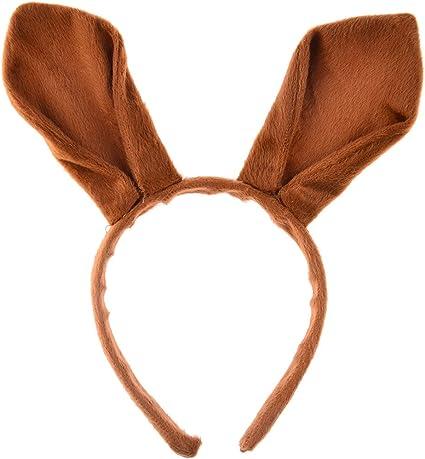 Petitebella Brown Monkey Headband Bowtie Tail 3pc Costume For Children