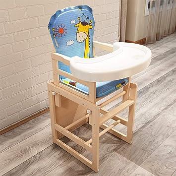 XHHWZB Chaise Haute Empilable Bebe Enfant En Bas Age Couleur Style C