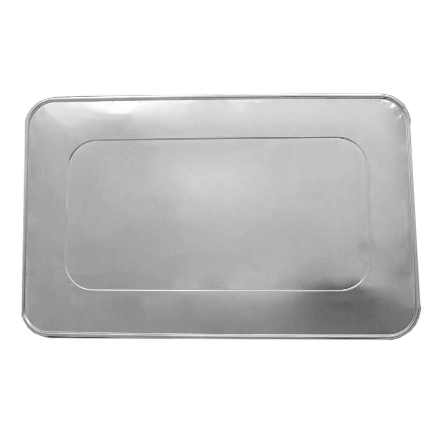Case of 50 Party Essentials F2050 Full Size Aluminum Foil Lid for Steam Table Pan