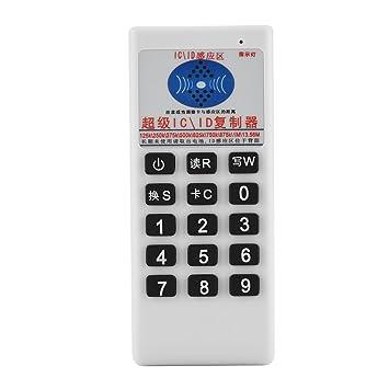 Eboxer Lector/Escritor / Copiadora/Duplicadora de Tarjeta de Identificación IC RFID NFC 13.56 MHz / 125K / 250K / 375K / 500K con Función de ...