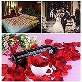SMILE PARTY 2200 PCS Dark-Red Silk Rose Petals Wedding Flower Decoration