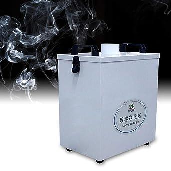 ZHFEISY Purificador de humo, purificador de polvo y humo, filtro de humo puro 220 V 80 W, filtración de cuatro etapas para máquina de corte de grabado Co2 L-A-S-E-R: Amazon.es: Industria, empresas