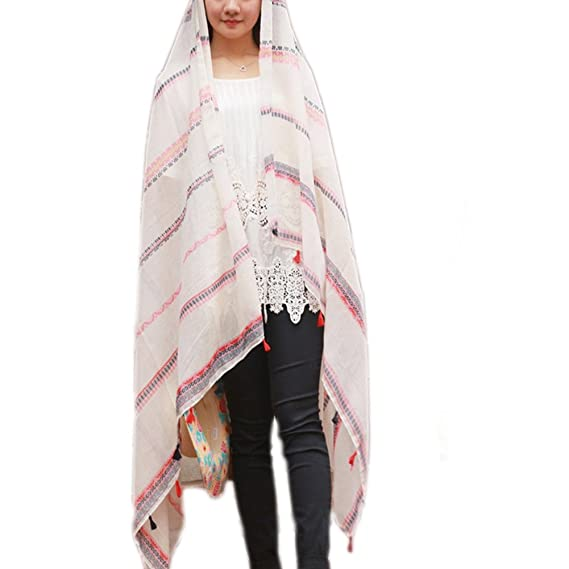 18a006b4b78 Elegante Bufanda Pañuelo Mujer JLTPH Pareo para la playa Soft Summer  Fashion Scarf Shawl Wrap para Mujer Chica: Amazon.es: Ropa y accesorios