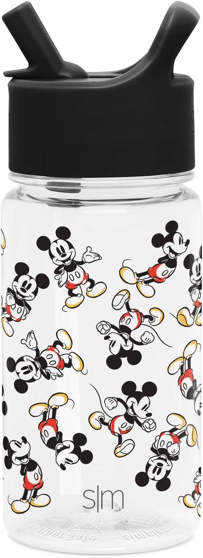 Simple Modern Kids Tritan Bottles, 16oz Water, Mickey Mouse: Retro